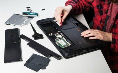 A laptop case