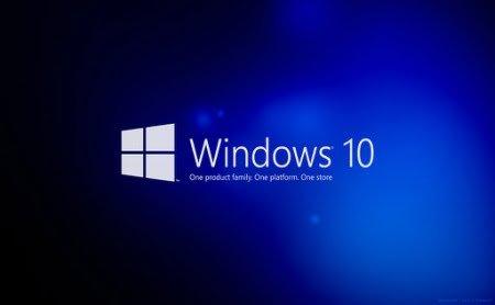 Operating system windows 10