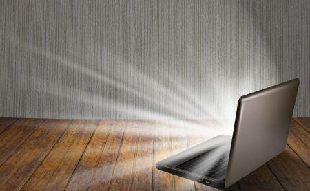 brightness setting of laptop screen