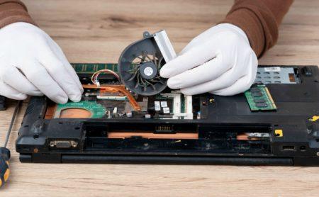 laptop computer internal equipment